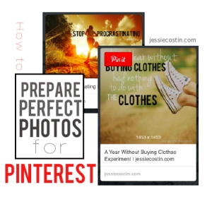 How to make your blog post images work better on Pinterest. Simple tips. | jessiecostin.com